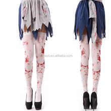 Halloween Cosplay Over <span class=keywords><strong>Knie</strong></span> Volwassen Vrouwen Bloody Zombie Sokken