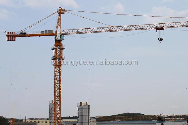 Construction equipment tower crane spare parts price list used for construction company