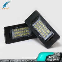 E82/E88/E90/ E90N / E91E70 / E71/ E39 / E60 / E60N /E61/ E6 3528SMD led license plate light bulb for BMW