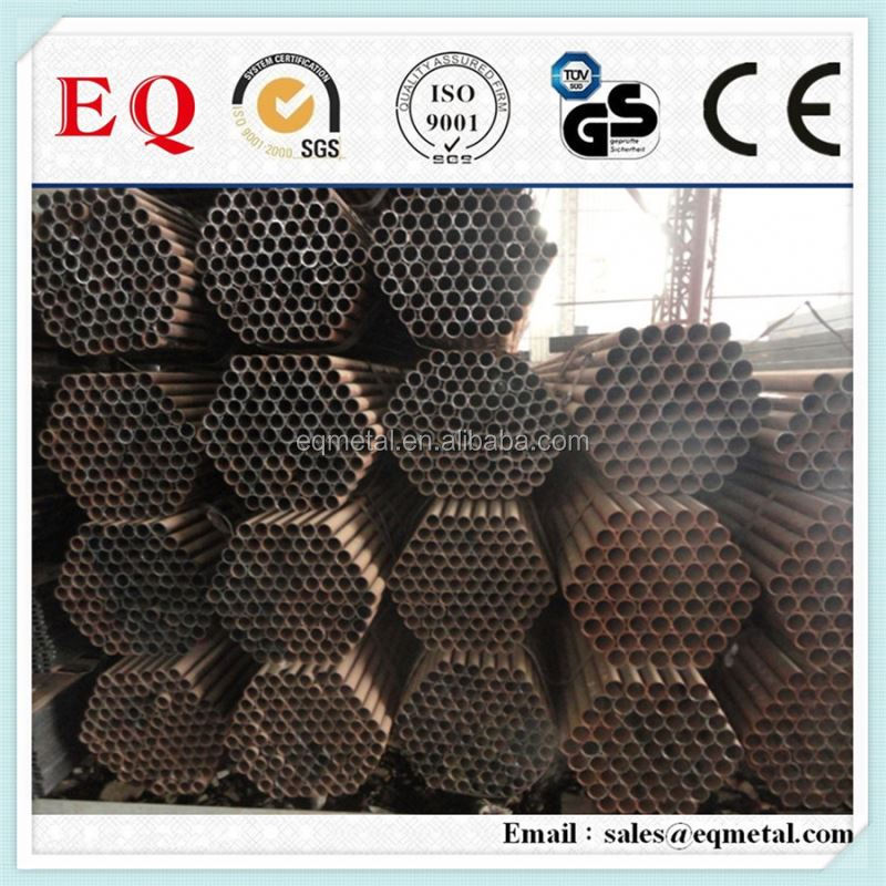 As welded galvanized pipe stainless steel pipe threaded end cap