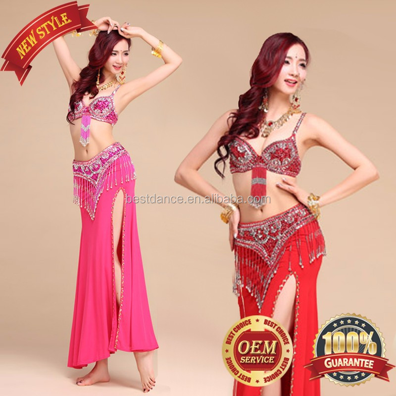 4255e961b83 BestDance Indian dance costumes set belly dance costumes sets  Plus size  belly  dance top belt skirt