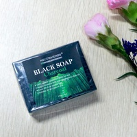 Wrinkle Care Smoothing And Brighter Black Charcoal Soap Wink White Soap Black Soap