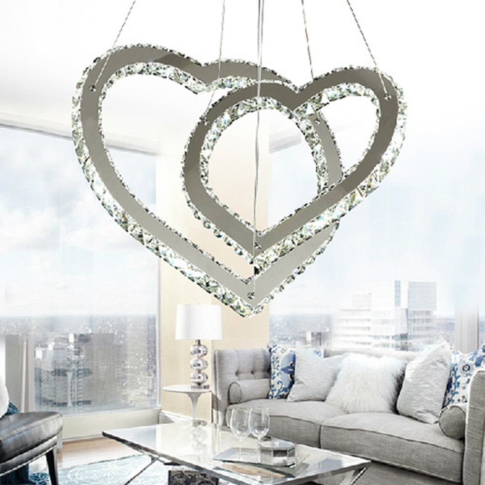 Manufacturer's premium quality crystal flat chandelier light