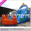 New Inflatable octopus slide inflatable water park and water slide with swimming pool