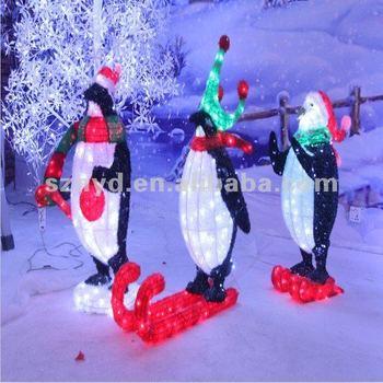Skiing Christmas Penguin Light For Christmas Decorations Buy Christmas Penguin Light Led Christmas Penguin Light Christmas Penguin Product On