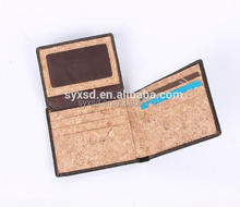 Slim Custom Recycle Eco-friendly Lightweight Waterproof Dupont Tyvek Paper Cork Wallet