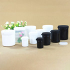 Empty skin care containers pp plastic cosmetic jar