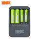100%PeakPower PP420 4 slots NiMH 1.2V AA AAA Rechargeable Battery Charger for Remote Control