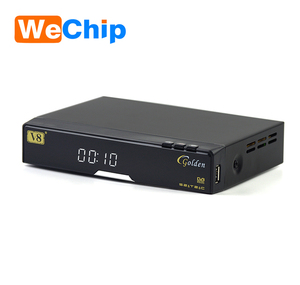 openbox v8 goldendvb-s2+c+t2 iptv satellite receiver v8 Golden combo  Satellite receiver