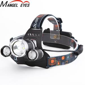 Hot Product Head Torch Light Rechargeable Zoomable Waterproof High Power Led Headlamp