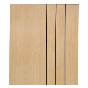 2012 Popular veneer door design in project