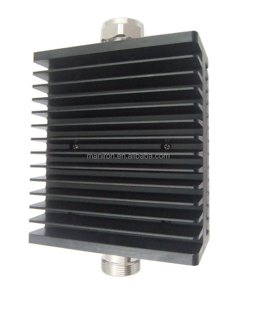 DIN male to DIN female connector, DC-3000MHz, 150W 10dB Coaxial/fixed RF attenuator, IBS.BTS,DAS