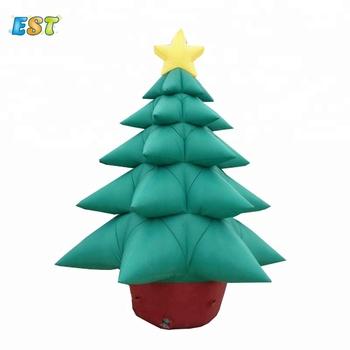 Decorazioni Natalizie Gonfiabili.Vendite Di Natale Gigante Decorazione Albero Di Natale Albero Di