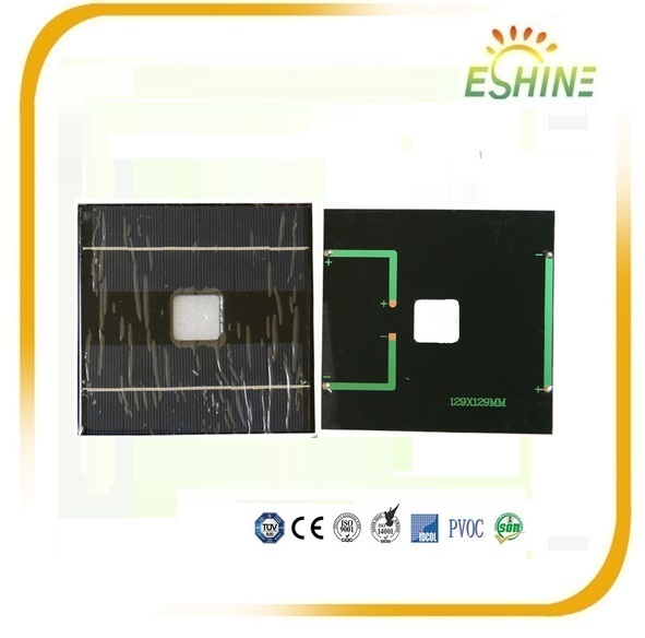 2W 6V Epoxy Resin Pet Encapsulation Small Mini solar panel for Toys and Led Lights