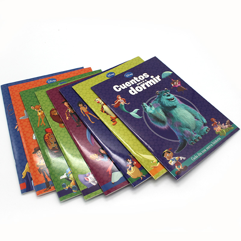 Custom Print Exercise Book Staples Printing Services Book