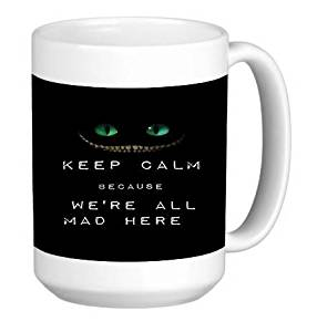 Popular Design Custom Office Cup - Popular Keep Calm Print - 11 Ounce Ceramic White Coffee/Tea Cup