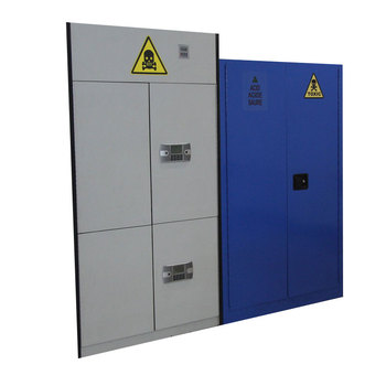 Flammable Fireproof Chemical Safety Cabinet For School Laboratory Equipment