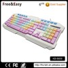High end computer multimediar colorful keyboard
