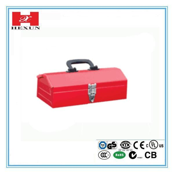 OEM red color steel portable tool box