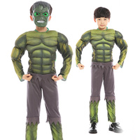 fashion high quality tv & movie costumes supper hero costume hulk costume