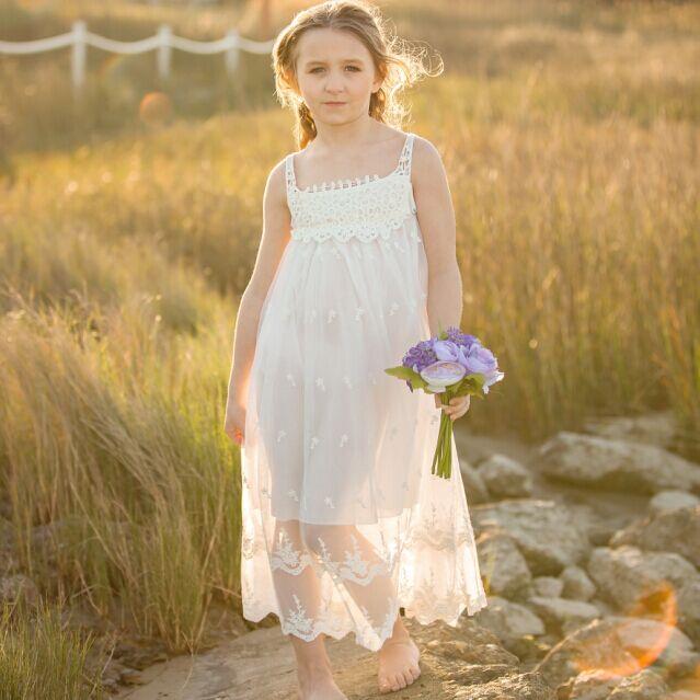 Vestidos de nina para bodas en la playa