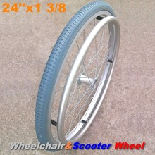 Wheelchair Spare Parts for Repair Market Top Quality 24 Inch Wheelchair Wheel