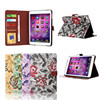 For iPad Mini 4 Wallet Case, Hot Sale Girl Style Flower Pattern Wallet Case for iPad Mini 4
