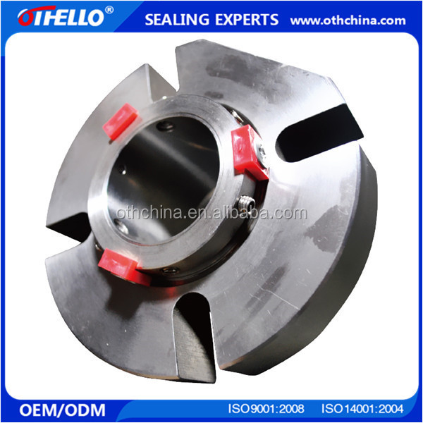 Double end face single rotation mechanical seal