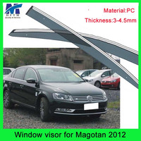 Hot100% pc material window visor custom car body kits for Passat B7