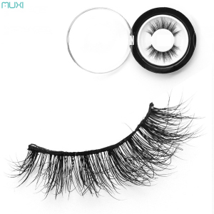 Faux Multi Layered Mink False Eye Lashes High Quality Cross Lashes