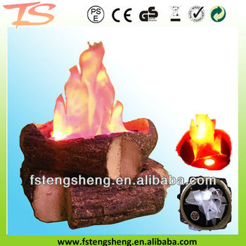 how to make fake fire logs