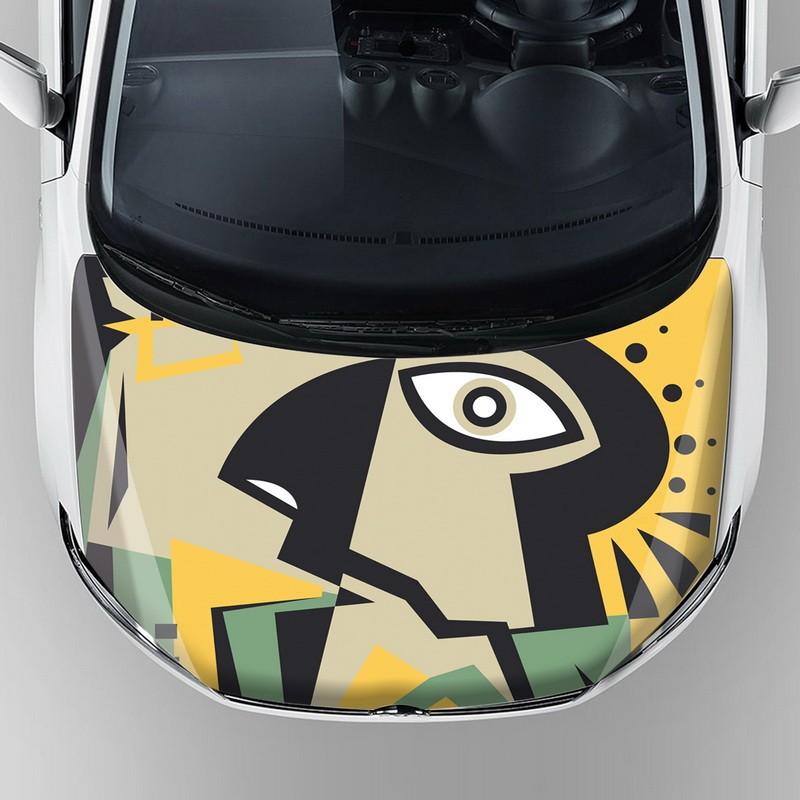 Wholesale Custom Vinyl Stickers Car Body Sticker Graphics Print Auto Hood  Bonnet Vinyl Wrap With Reusable Removable Adhesive - Buy Car Body