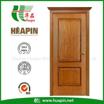 Modern Wooden Single Door Design Teak Wood Main Door Designs With 2