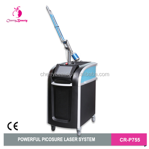 Newest picosecond figure fast tattoo removal and skin improving picosure machine
