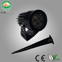 Outdoor Black Base 12v-240v 1w 3w Low Voltage Garden Lighting Kits