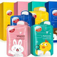 Private Label Refreshing Moisturizing Korean Face Mask For Woman Skin Care Facial Mask