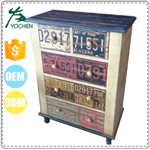 movable multi paint corner drawer cabinet, individual drawer for cabinet