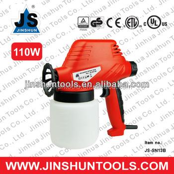 Js New 110w Electric Airless Paint Gun Sprayer House Fence