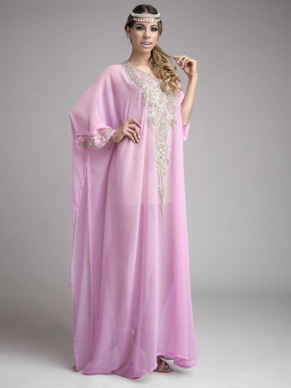 Arabic Dubai Abaya Caftan Style Prom Dress Moroccan Kaftan Dress