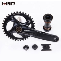 AZ9-AS320 104 bcd aluminum chain ring crankset 170mm crank mtb 40T 42T 44T
