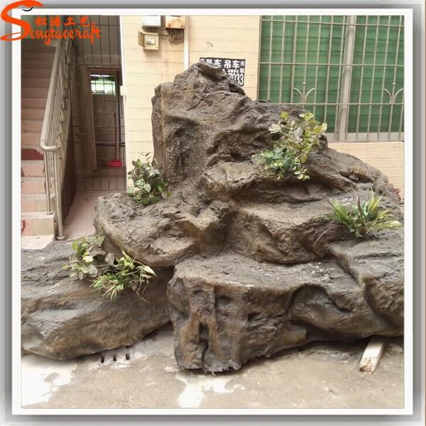 Giardino decorazione della parete cascata fontane roccia cascata ...