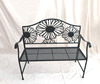 /product-detail/park-yard-furniture-cast-iron-frame-black-patio-flower-outdoor-garden-bench-62130514225.html