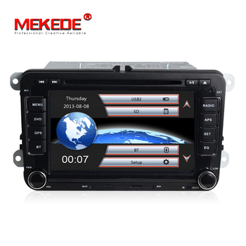 Two Din 7 Inch Car Multimedia For VW POLO PASSAT B6 Golf 5 6/ Skoda Octavia Fabia Rapid Yeti Superb/Seat Wifi Radio FM GPS Navi