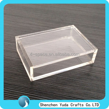Plastic Plexiglass Storage Box For Power Supply