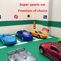 1 64 Alloy car model 1 64 Double door Racing Sports car Pocket car Classic models