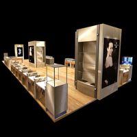 custom Exhibition Display jewelry display downtown cambridge