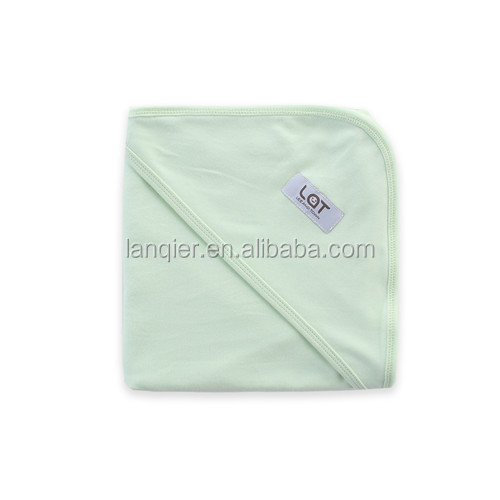 Plain white hooded towel Baby hooded towel with various colors
