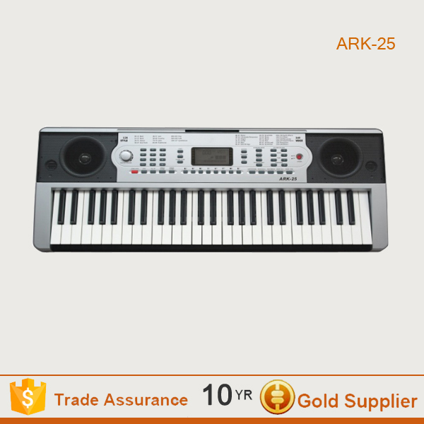 54 keys professional electronic keyboard in standard and accurate sound