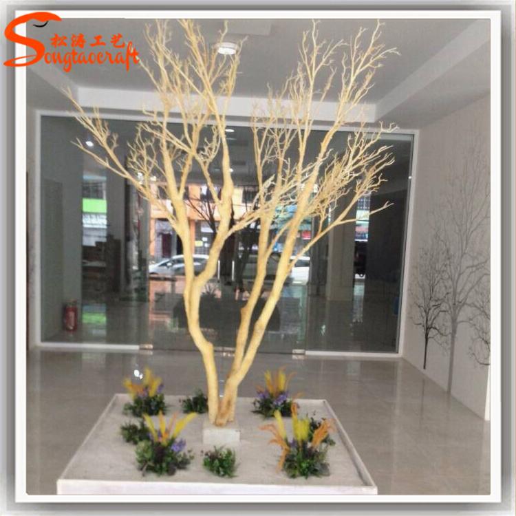 Personalizar tronco sin hojas de rbol seco para for Arbol artificial decoracion