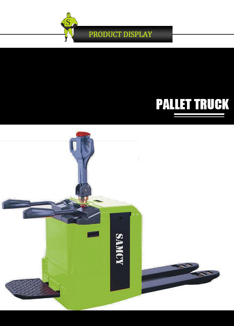 SAMCY Best Selling Mini Electric Pallet Truck